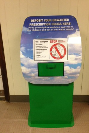 Drug disposal box