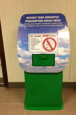 Drug disposal box
